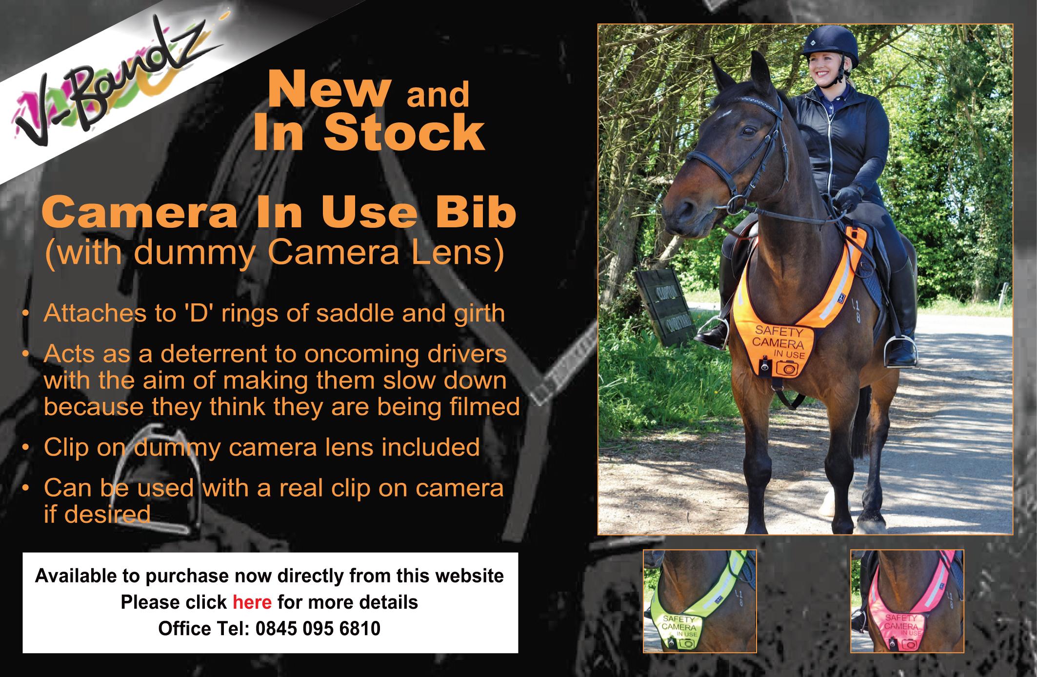 High visibility product rider, horse, pet - v-bandz co uk