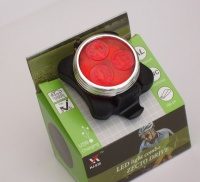 Clip on Super Bright Red Rechargeable LED Light