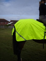 Waterproof High Visibility Quarter Exercise Sheet